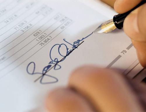Thủ tục đăng ký chữ ký số