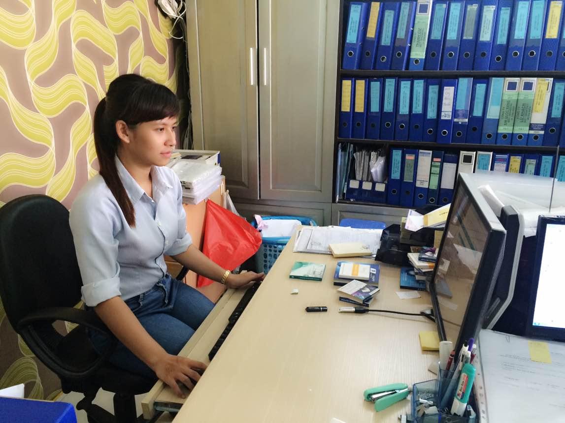 Nữ giám đốc trẻ Phạm Thị Thanh Mai